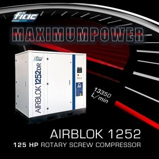 Fiac power compressor - immagine laterale