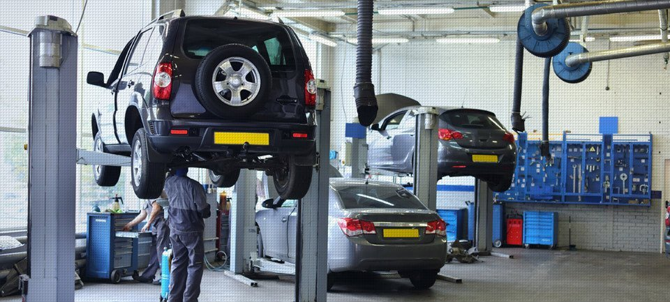 Car servicing facility