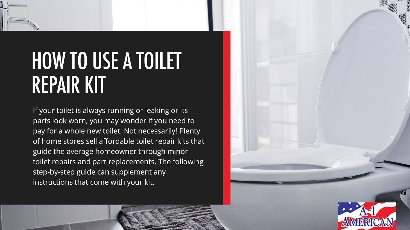 How To Use A Toilet Repair Kit