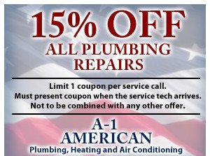 15% off plumbing