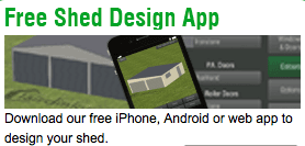 Download our free Shed App