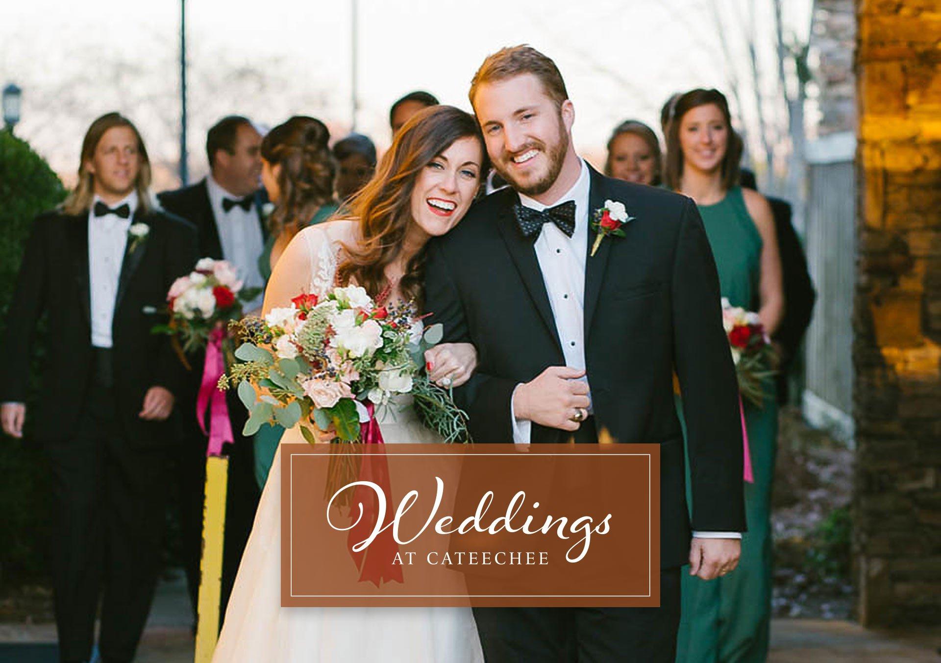 Weddings at Cateechee