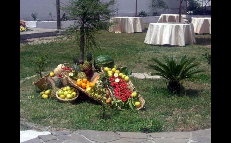 Ornamento di frutta