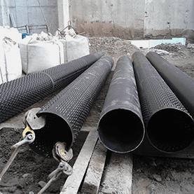 Tubi di rivestimento con filtro a ponte