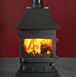 Woodwarm Fireview Slender 5Kw - Woodwarm Stoves – Ware – Morley Stove Company