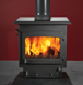 Woodwarm Fireview Slender 7Kw - Woodwarm Stoves – Ware – Morley Stove Company