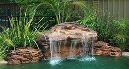 Laghetto Con Cascata Da Giardino : Laghetti artificiali salerno campagna vl piscine