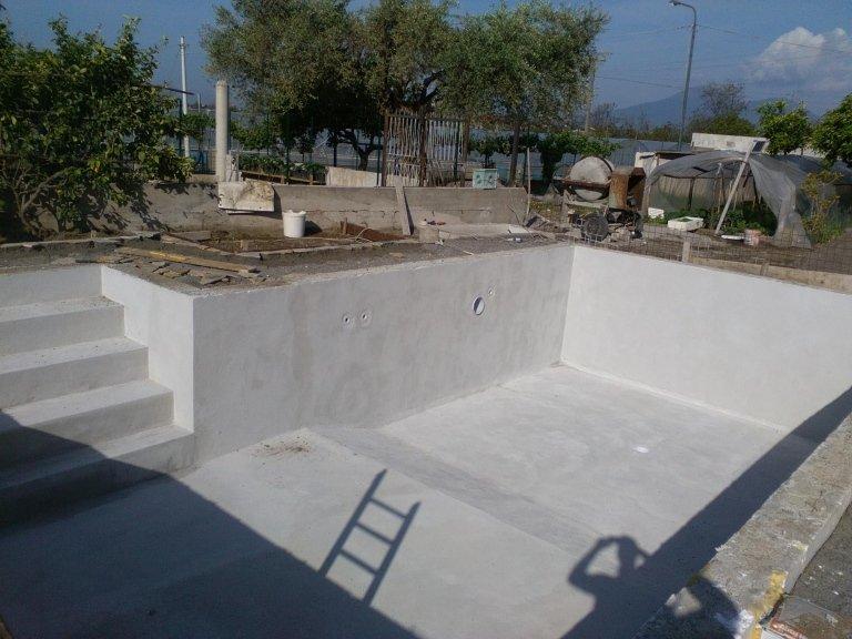realizzazione scala in muratura e intonaco