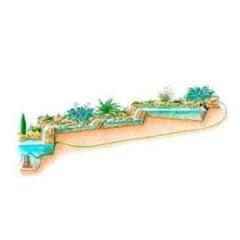 Progettazione laghetti con cascate