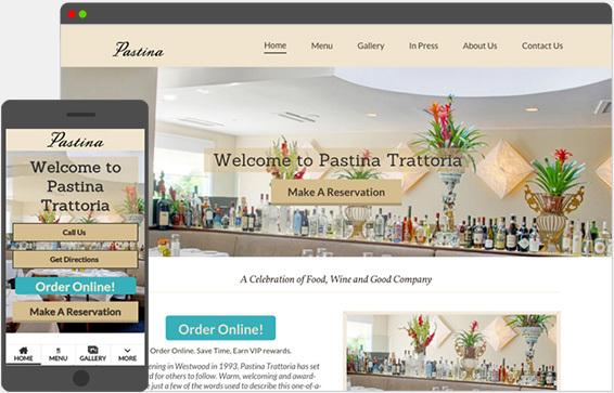 responsive client website
