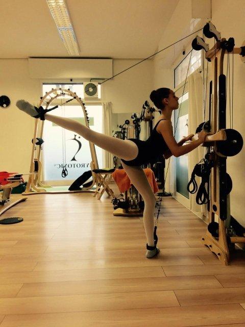 ginnastica per ballerini
