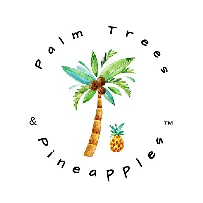 Palm Trees and Pineapples Soap and Candle