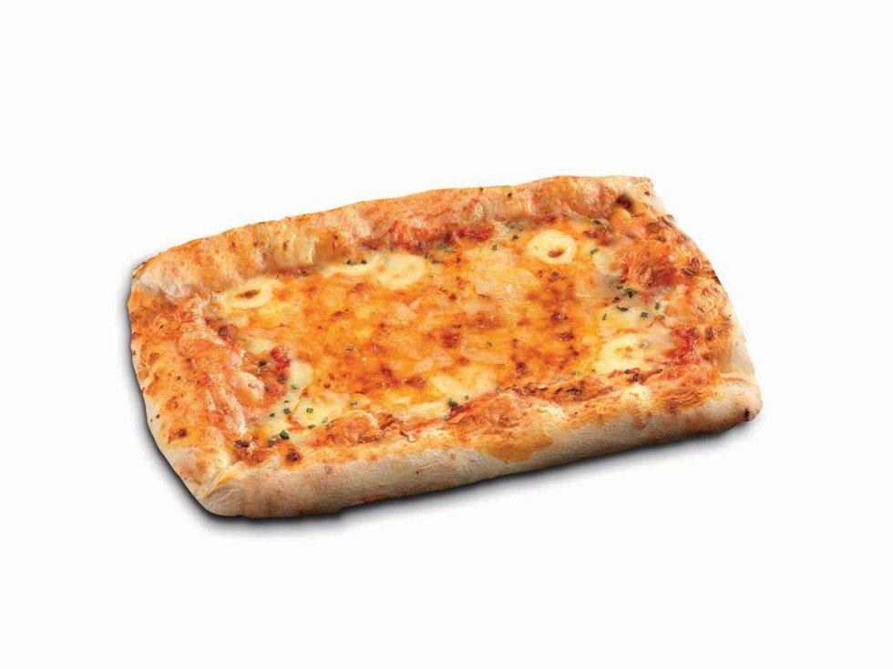 Pizza Rettangolare Ai Formaggi