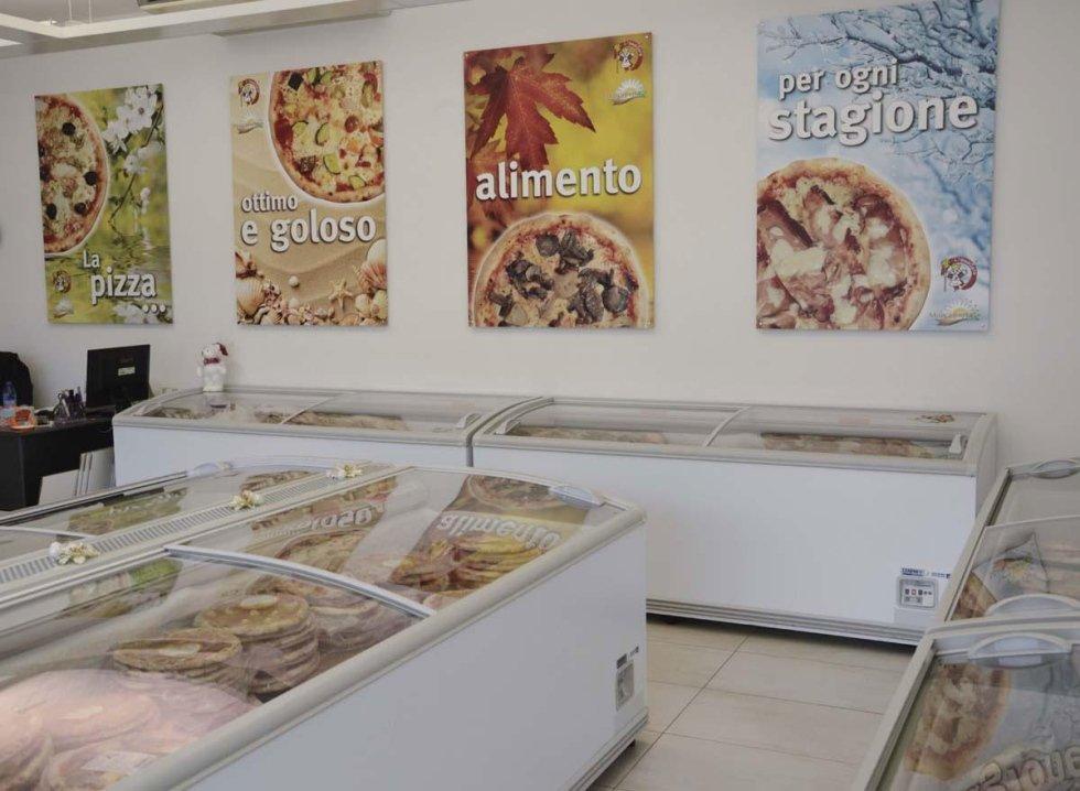 Pizze surgelate Fregona
