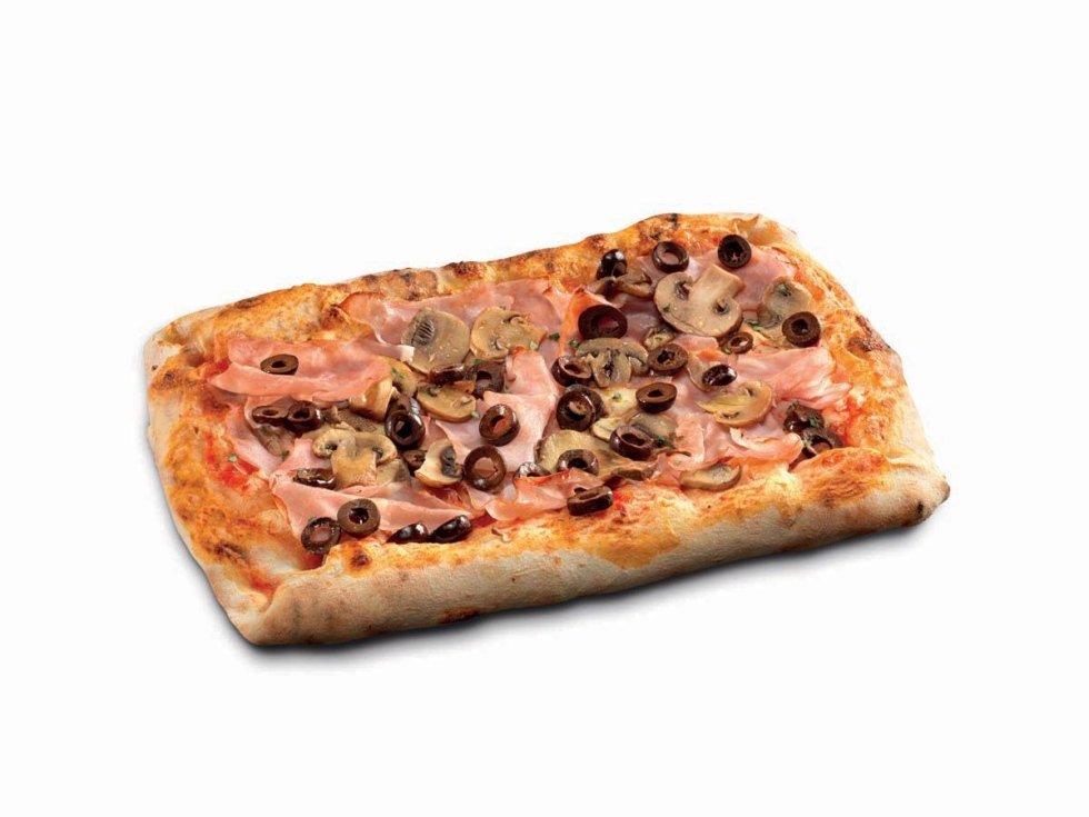 Pizza Rettangolare Quattro Stagioni