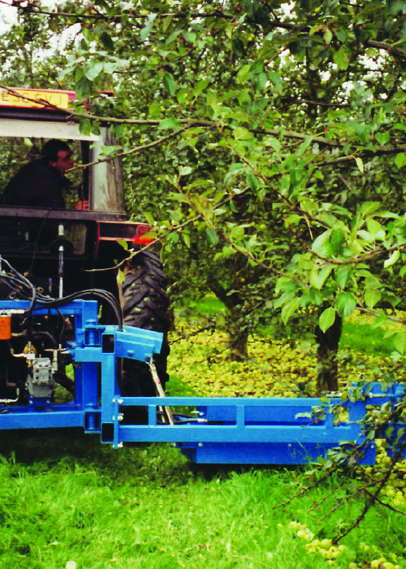 Designers and manufacturers of fruit harvesting machinery