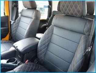 Leather upholstery restoration