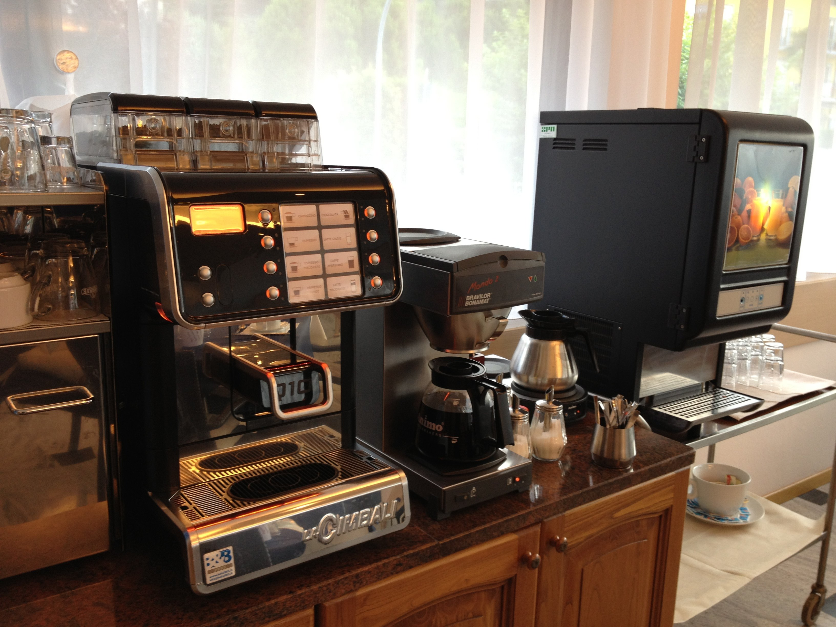 Macchina del caffè per colazione
