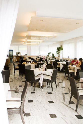 sala da pranzo e cena