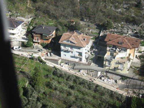 veduta dall`alto Trento