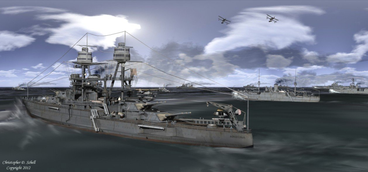 Fleet Problem XiX by Theschell