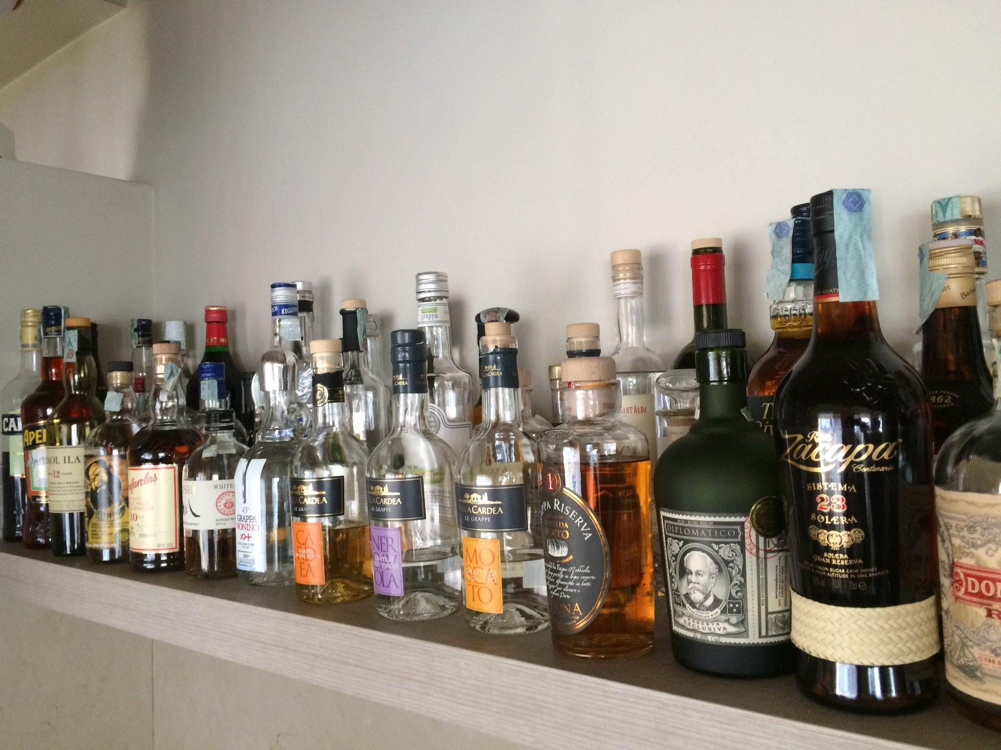 ripiano liquori