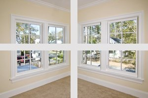 Energy-efficient windows installations