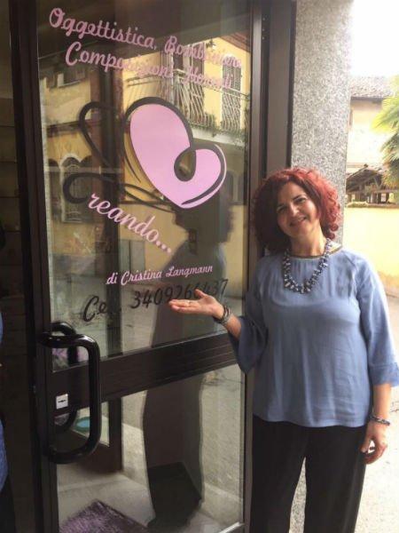 Cristina Langmann, orgogliosa proprietaria