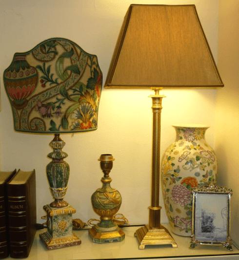 Paralumi decorati