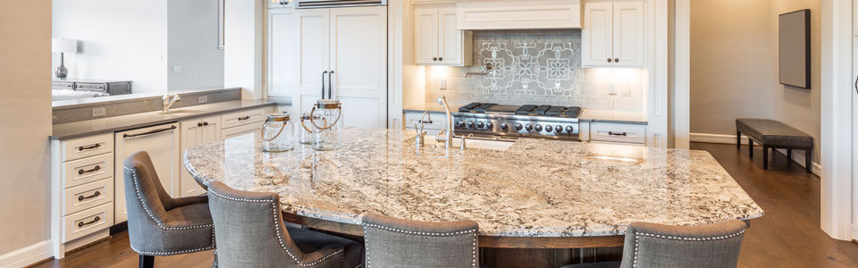 An example of the quartz counter tops we provide and install in San Leandro