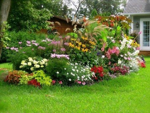 Progettazione aiuole per giardino