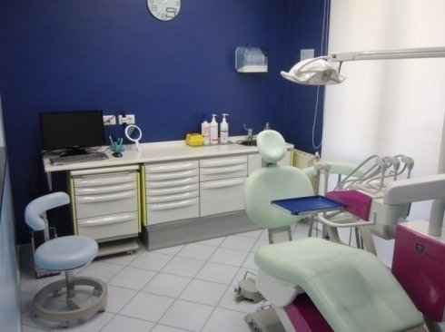 sala controllo dentista