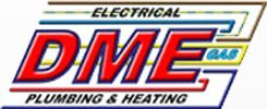DME Plumbing and Heating logo
