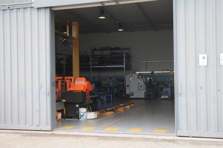 Exterior of installation