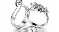 fedi nuziali, anelli in oro bianco, anelli di fidanzamento