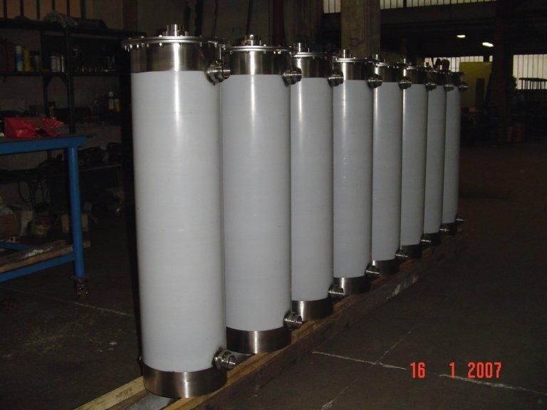 Condensatore inox