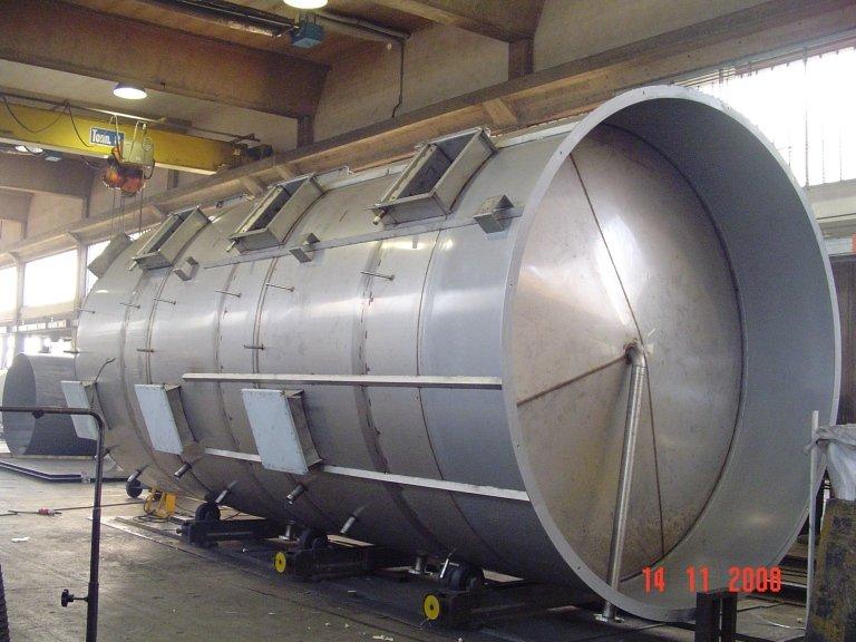 Serbatoio filtrazione aria