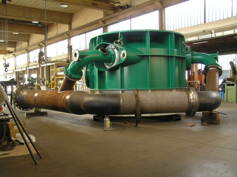 distributore turbina pelton