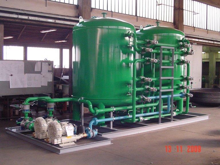Filtri trattamento acqua
