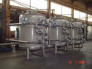 Filtri trattamento acqua inox