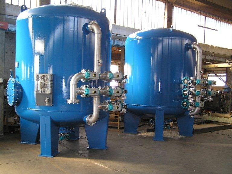Filtri per trattamento acqua