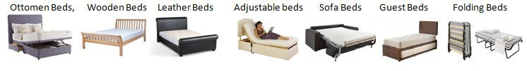 wooden beds, sofa beds and more