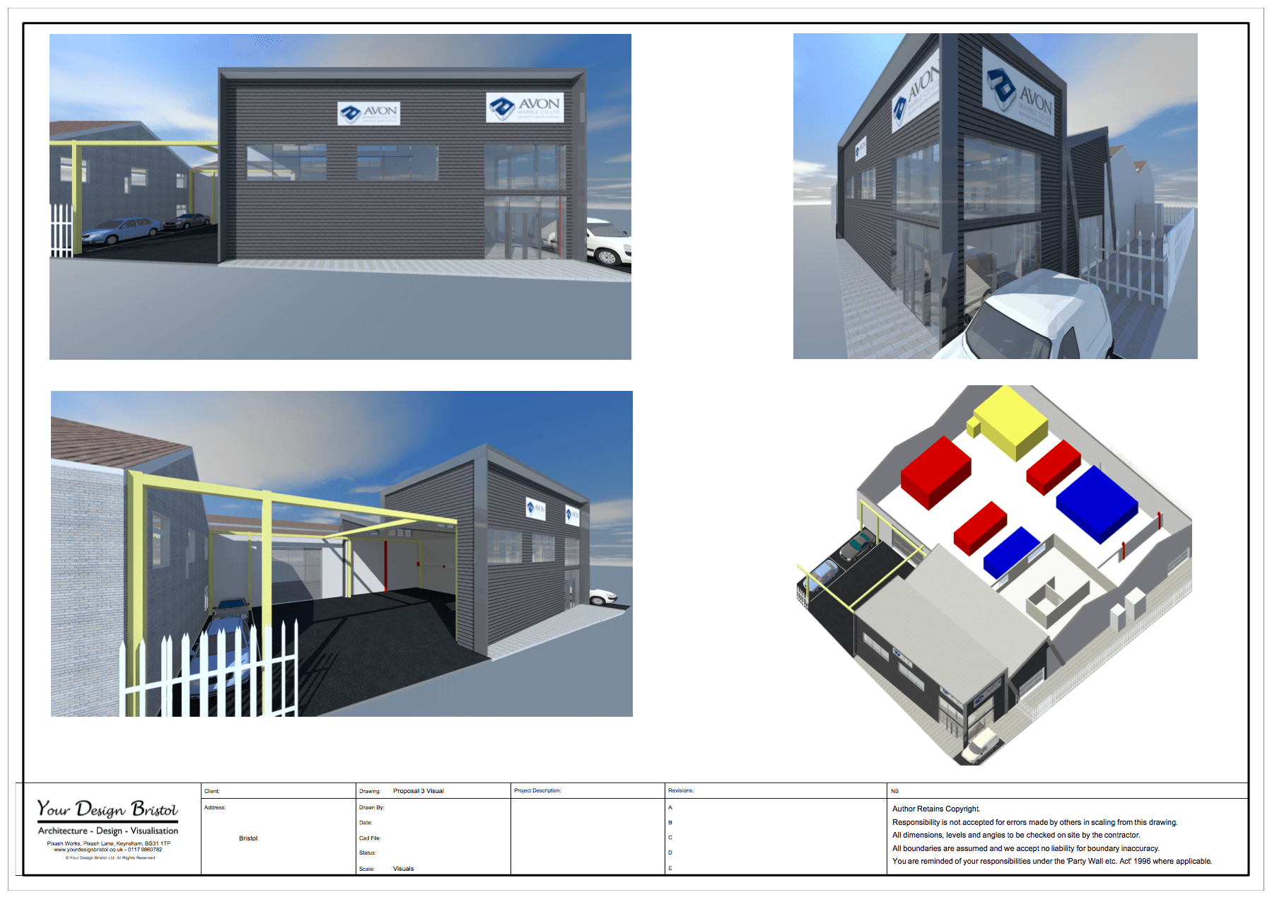 Commercial Extension Design and Visualisation