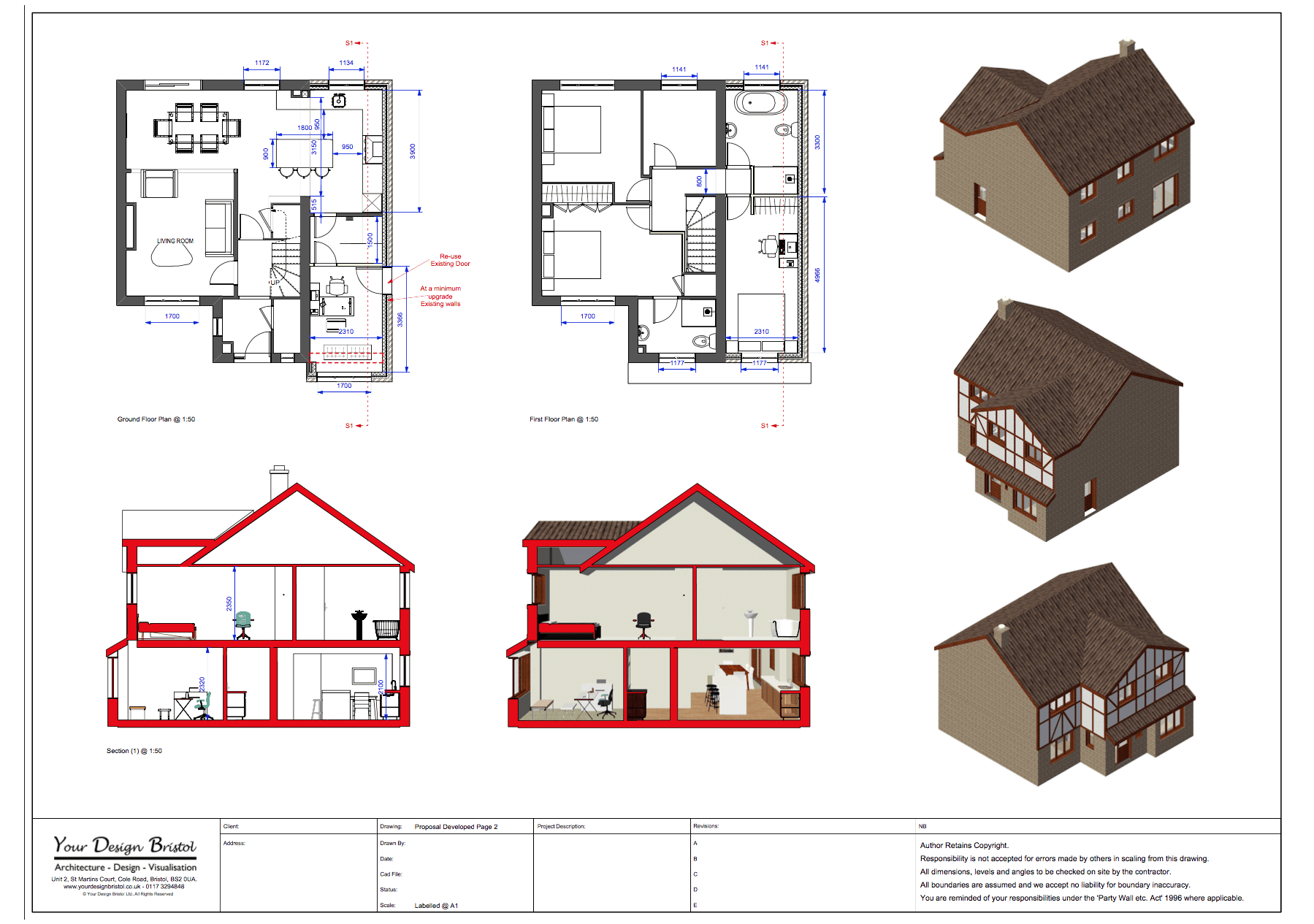 House Extension Design and Visualisation