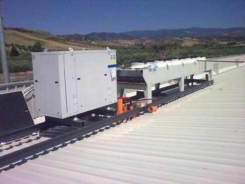 installazione centrale TN con condensatore