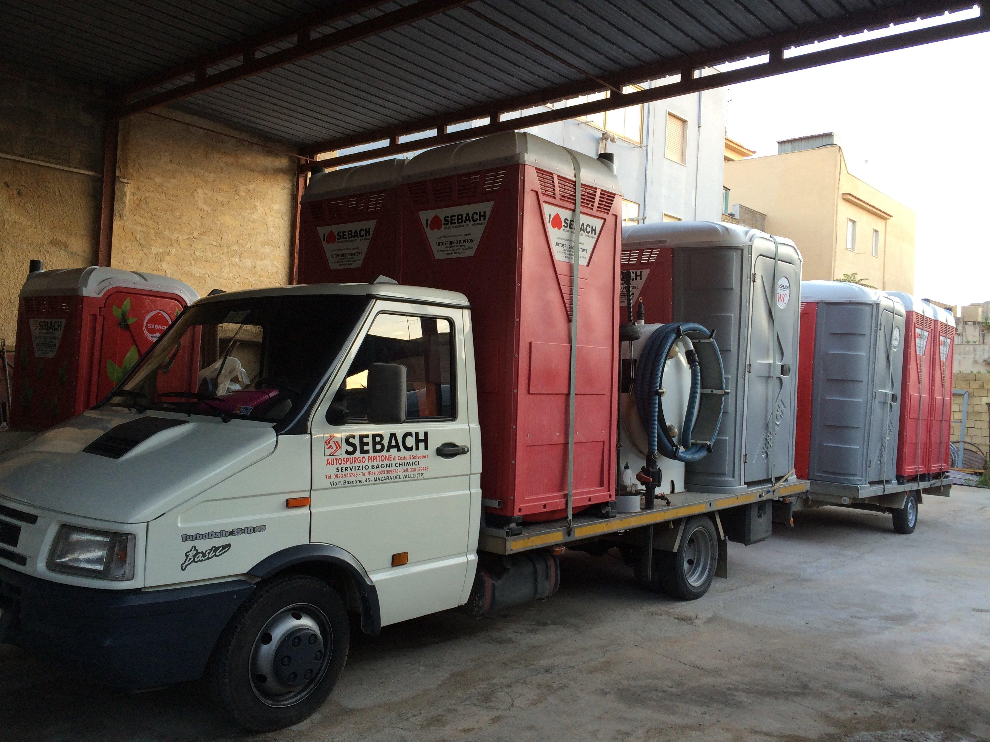 un camion carico