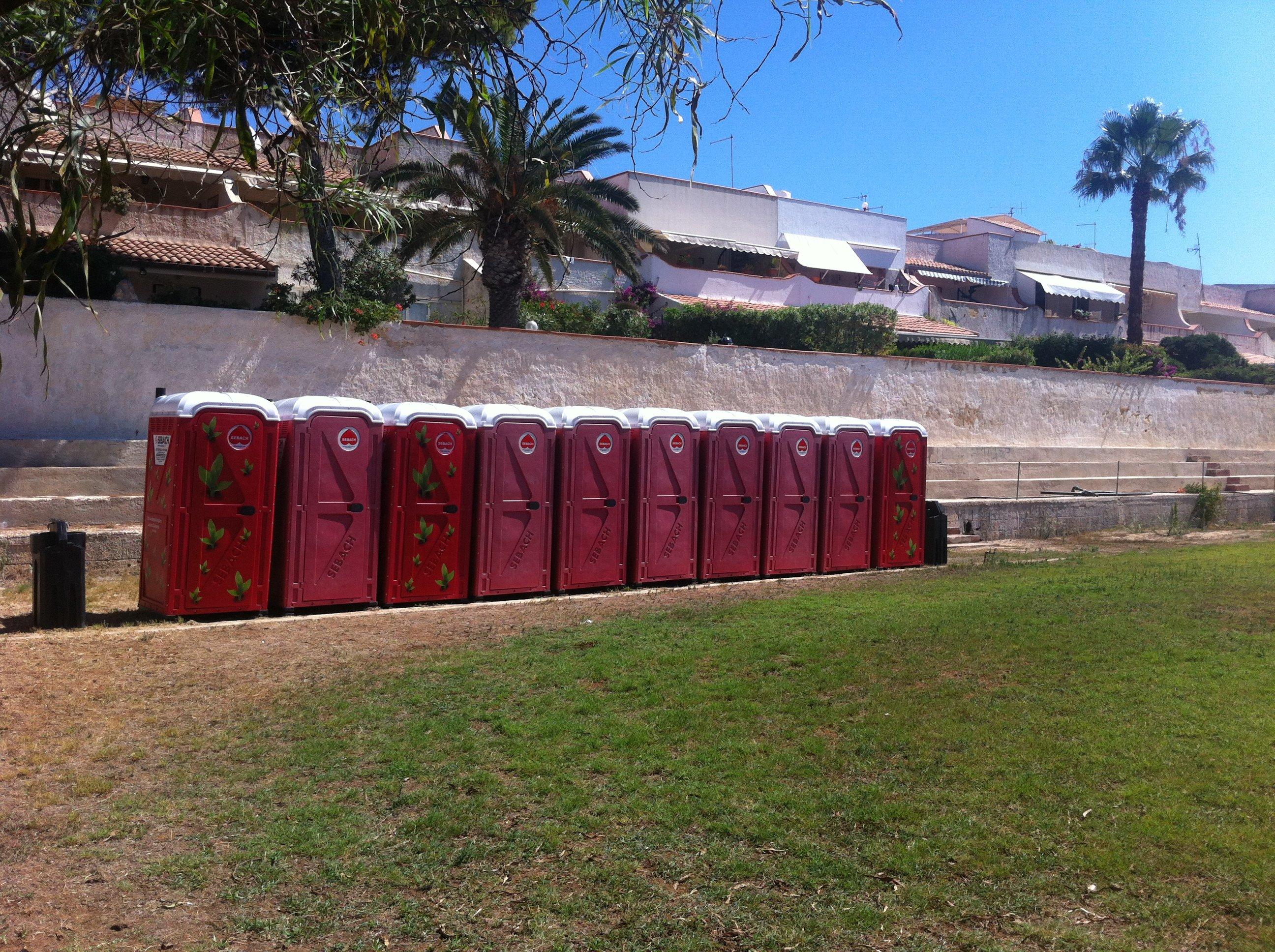 dei container rossi