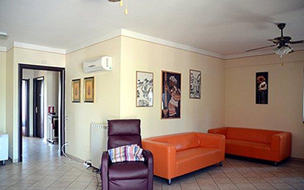 sala relax di una casa di riposo