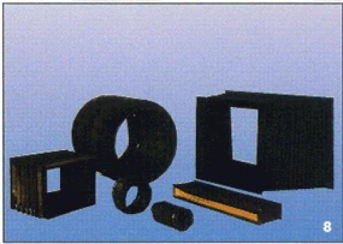Produzione di articoli tecnici in gomma