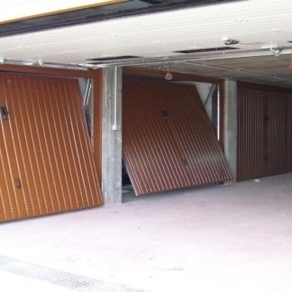garage with up and over doors